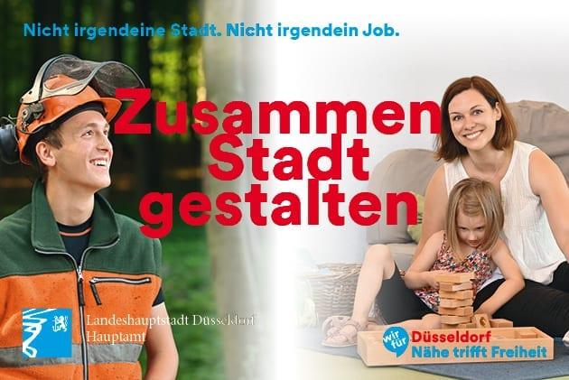 Ausbildung bei der Landeshauptstadt Düsseldorf? Jetzt für das Einstellungsjahr 2021 bewerben!