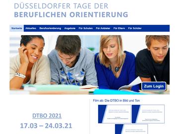 Aktuelle Informationen: Düsseldorfer Tage der Beruflichen Orientierung 2021