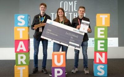 Der Countdown zum 6. Businessplan-Wettbewerb von STARTUP TEENS läuft – noch bis 5. August ist die Teilnahme möglich!