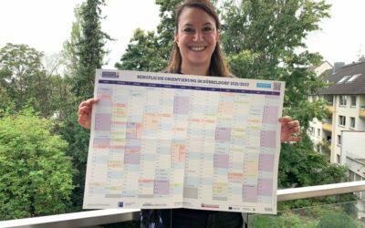 Berufsorientierung-Kalender 2021/2022 geht an den Start
